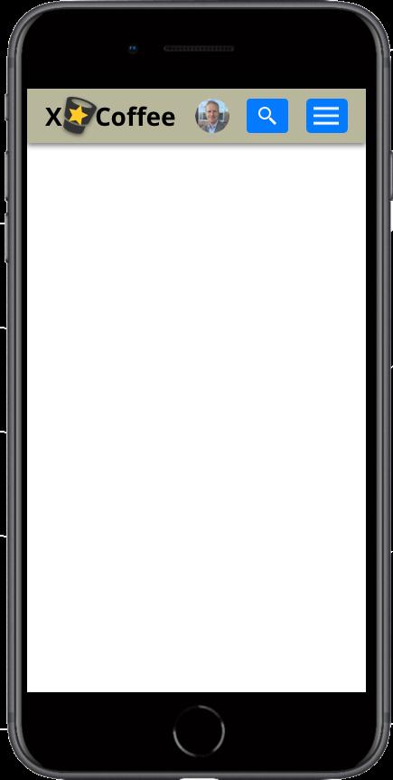 Intranet mobile header (by Jesper Bylund)